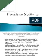 Liberalismo Econômico