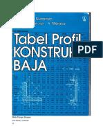 210578396 Buku Tabel Profil Konstruksi Baja