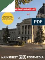 Mainstreet - Saskatchewan Post-Budget 2017