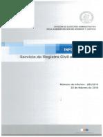 Informe Final 982-15 Servicio de Registro Civil e Identificación - Auditoría a Las Adquisiciones - Febrero 2016