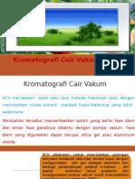 Kromatografi Cair Vakum (KCV)