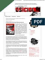 Circulo de Estudios Tercerposicionistas_ El Socialismo Nacional Revolucionario