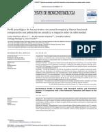 Perfil Psicológico de Los Pacientes Con Asma Bronquial y Disnea Funcional