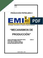 Mecanismos de Produccion GRUPO 3