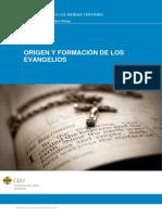 FORMACION DE LOS EVANGELIOS
