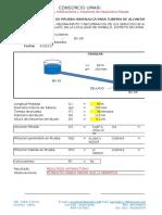 Protocolo de Prueba Hidraulica