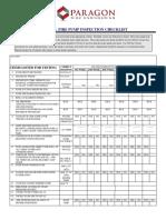 Diesel Fire Pump Inspection Checklist