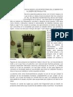 Analisis de Una Plancha Según Las Aportaciones de La Semántica Al Diseño de Productos