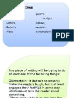 Creative Writing Introduction