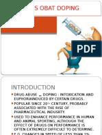 Analisis Obat Doping