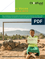 Small Voices Big Dreams 2014 - Reporte final español