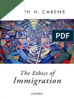 [Joseph Carens] the Ethics of Immigration Full Book
