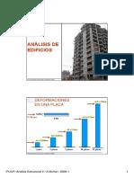 Análisis PS-3D - Análisis de Edificios - Tipo Corte y Flexión