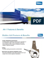 HALDEX Aa1 Features Benefits