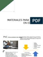 Materiales Para Tuberia en Edificios