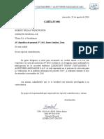 CARTA DE ACEPTACION EN AUDITORIA