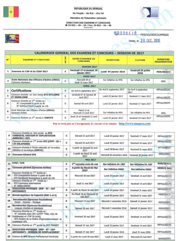 faeb62b2773 Calendrier-general-des-Examens-et-Concours-2017.pdf