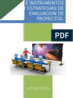 Técnicas e Instrumentos de Evaluación de Proyectos