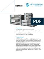HP 2530 Switch Series DataSheet