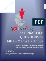 Maths By Amiya - FOR XAT.pdf