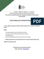 Convocatoria Estudiante Pregrado-2017