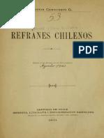 Cannobio, Agustín- Refranes chilenos.pdf