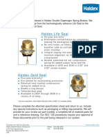 Gold Seal Life Seal Specification Sheet