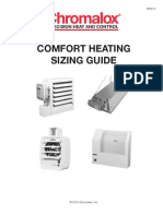 Comfort Heating Sizing Guide
