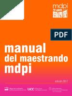 Manual del maestrando mdpi 2017