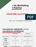 CeRP - Curs 3 (Cerc Calitative - Metode)