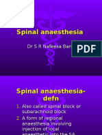 Spinal and Regional
