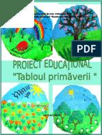 Proiect Educational Tablul Primaverii Final