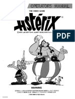 Asterix, 1992, Operator's Manual