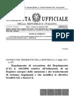 DPR 157-11 -  E PRTR