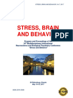"Program and Proceedings - 24th International ""STRESS AND BEHAVIOR"" Neuroscience and Biopsychiatry Conference, St-Petersburg, Russia (May 16-19, 2017)"