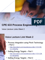 CPE 633 Process Engineering II_voice Lecture Link_WK 2