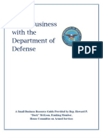 Doing Business with DOD
