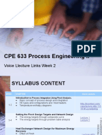 CPE 633 Process Engineering II_voice Lecture Link_2014