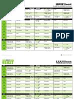 BodyBeast Calendar Huge Lean 20160920
