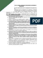 Requisitos de La Autorización Para La Manipulación de Explosivos