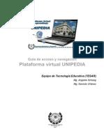 Acceso y Navegacion UNIPEDIA 2017 Biologia FCV