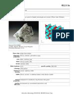 Mineral Wollastonite