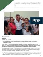31/Marzo/2017 Impulsa Gali Fayad Acciones Para La Promoción Desarrollo y Acceso a La Vivienda