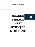 Bazele Biblice Ale Stiintei Moderne