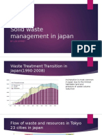 Solid Waste Management in Japan
