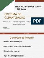 Modulo I- Historia de Climatizaçao