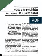 Anderson, Perry - Limitaciones y posibilidades de la accion sindical. n13p113.pdf
