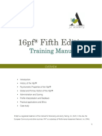 16PF5 Manual Academy Colours