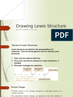 Drawing Lewis Structure