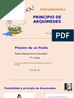 9.-Principio de ARQUIMIDES Xx